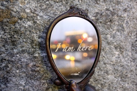 I am Here Mirror